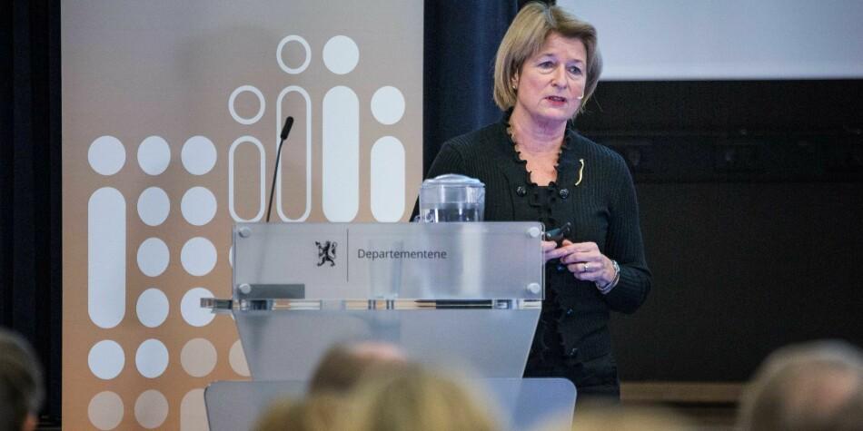 UiT Norges arktiske universitet, med rektor Anne Husebekk, har lagt en plan for å fortgang i pengebruken ved universitetet i år. Foto: Siri Øverland Eriksen