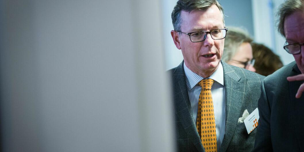 Dag Rune Olsen, rektor ved Universitetet i Bergen. Foto: Siri Øverland Eriksen