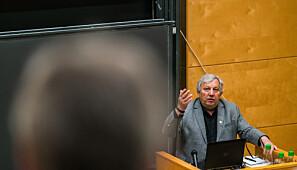 Professor Matthias Kaiser er prosjektleder for RINO-prosjektet. Foto: David Engmo