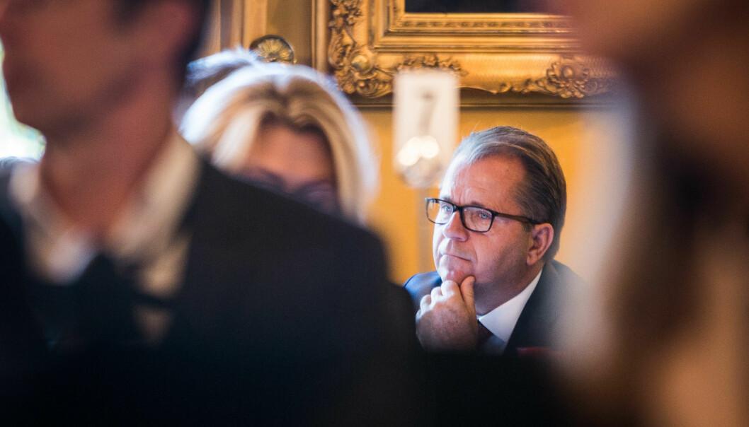 Avgått rektor på Nord universitet, Bjørn Olsen. Foto: Siri Øverland Eriksen