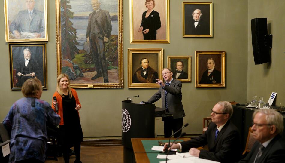 Det Norske Videnskaps-Akademi er en landsomfattende, tverrfaglig organisasjon med hensikt å fremme vitenskap. Organisasjonen ble stiftet i 1857.