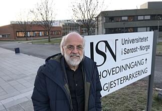 Rektor Aasen i Sørøst-Norge vurderer å søke en ny periode