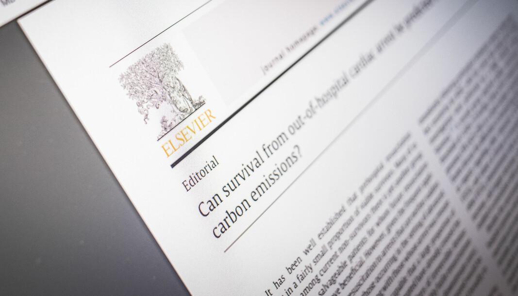 Elsevier er et av forlagene bak et åpent brev der går hardt ut mot Plan S-strategi.