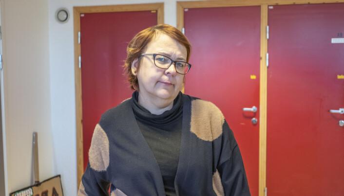 Riina Kiik er instituttleder ved Institutt for sosialfag ved NTNU, og misfornøyd med regjeringens forslag til master i branevern.