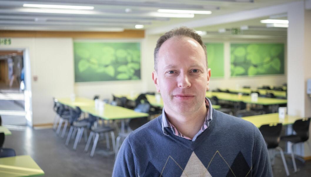 Øyvind Eikrem er innkalt til møte med ledelsen etter Filter Nyheter-sak om hans skjulte Facebook-aktivitet. Foto: Torkjell Trædal