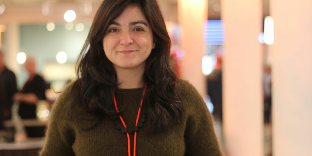 Hovedtillitsvalgt i NTL-UiO , Natalia Zubillaga, forventer at også LO og arbeidstakersiden får en plass i unviersitetets «tankesmier» og ikke bare NHO. Foto: Amanda Jakobine Lind Nelvik