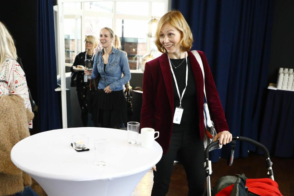 Avtroppende Schibsted-topp, Tina Stiegler, er en av dem som går inn i det nye styret i Khrono. Foto: Tore Meek / NTB Scanpix