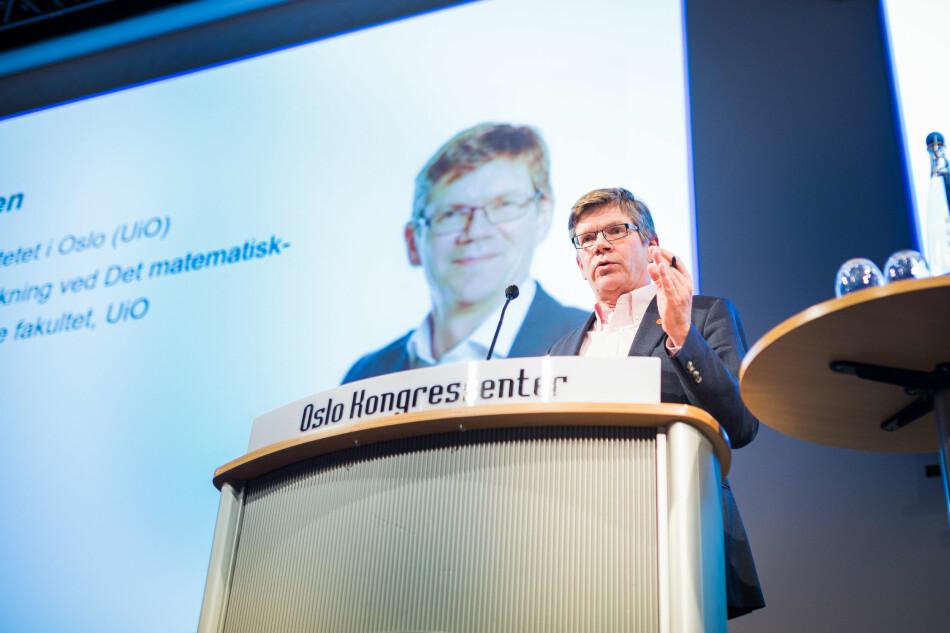 «Bærekraftsarbeid kan ikke bare være et tema i festtaler», skriv rektor ved Universitetet i Oslo, Svein Stølen, på sin blogg. Foto: Siri Øverland Eriksen