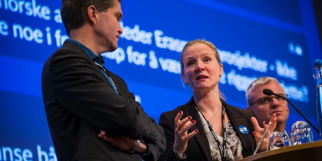 Mari Sundli Tveit går denne uka av som leder for Universitets- og høgskolerådet. Foto: Siri Øverland Eriksen