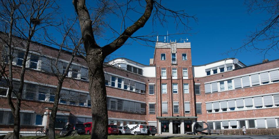 Høgskolen i Østfold sier seg ikke fornøyde med uttellingen de har fått fra EU så langt. Foto: Skjalg Bøhmer Vold