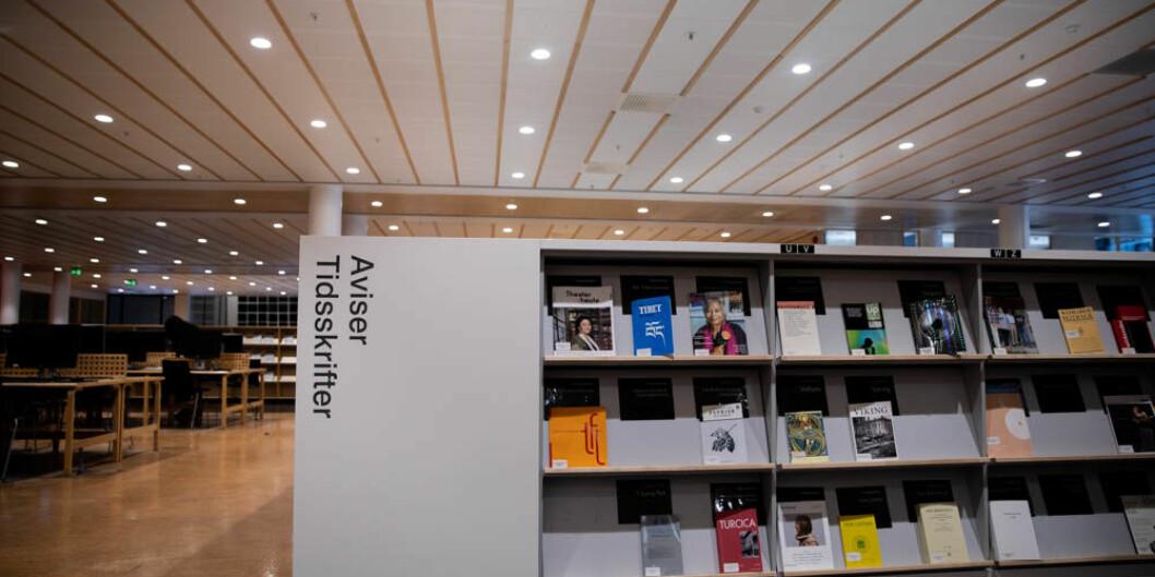 Svenskene har levd uten avtale med Elsevier siden 30. juni 2018. Tyskland forlenget heller ikke sin avtale med forlaget i 2018. Foto: Mina Ræge