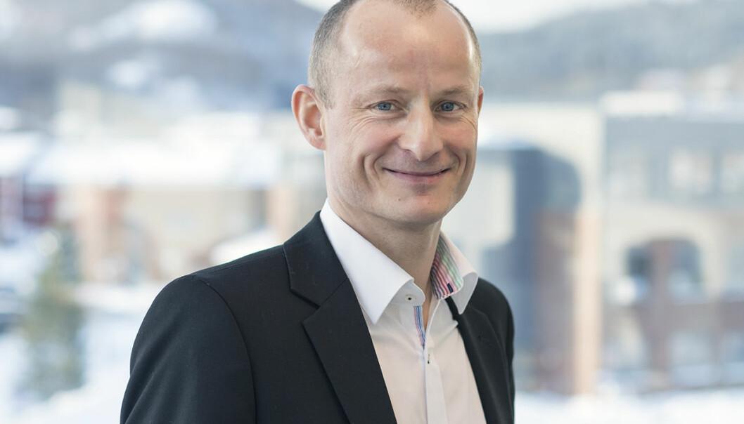 Levi Gårseth-Nesbakk, konstituert prorektor for utdanning ved Nord universitet. Foto: Nord universitet
