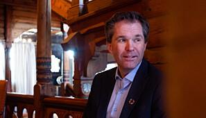 John-Arne Røttingen, direktør i Forskningsrådet. Foto: Torkjell Trædal