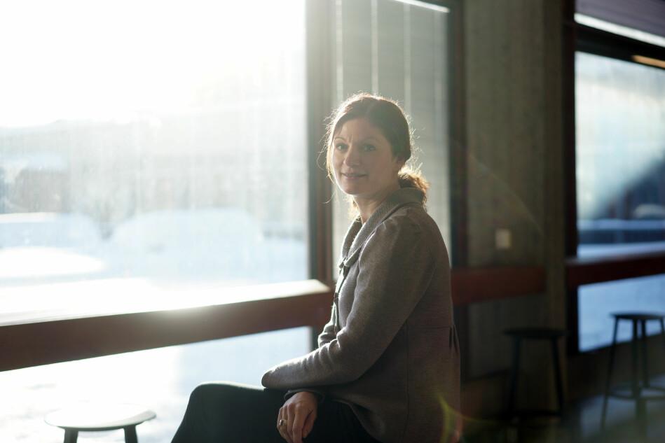 Perfeksjonisme, og å være motivert av ytre faktorer, kan være noen av trekke som gjør noen idretts- o g kunstutøvere mer sårbare, viser forskningen til prorektorkandidat ved Kunsthøgskolen i Oslo, Heidi Haraldsen. Foto: Ketil Haugstulen