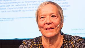 Rektor ved Høgskolen i Innlandet, Kathrine Skretting. Foto: Torkjell Trædal