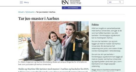Studentene føler seg lurt på jus-studier, men Sørøst-Norge mener de har sagt fra