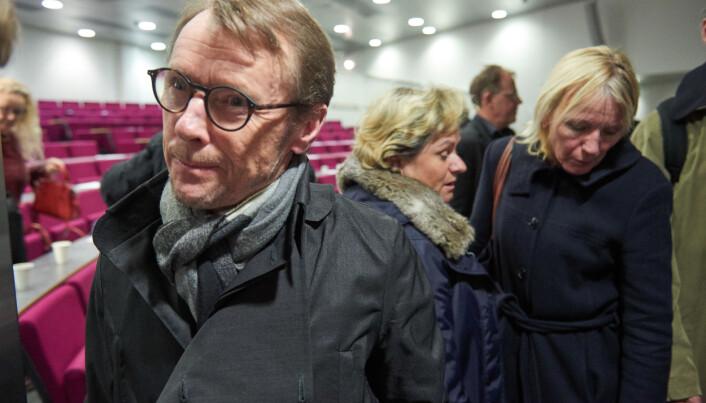 Professor på Nansensenteret, Johnny Johannessen, vil ha ei arbeidsgruppe for det marine Bergen, uavhengig av Røkke. Foto: Tor Farstad