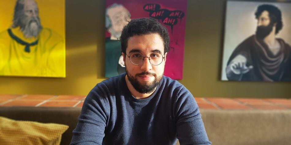 Felipe Fawcett Garcia stiller som nestleder i Norsk studentorganisasjon. Foto: Privat