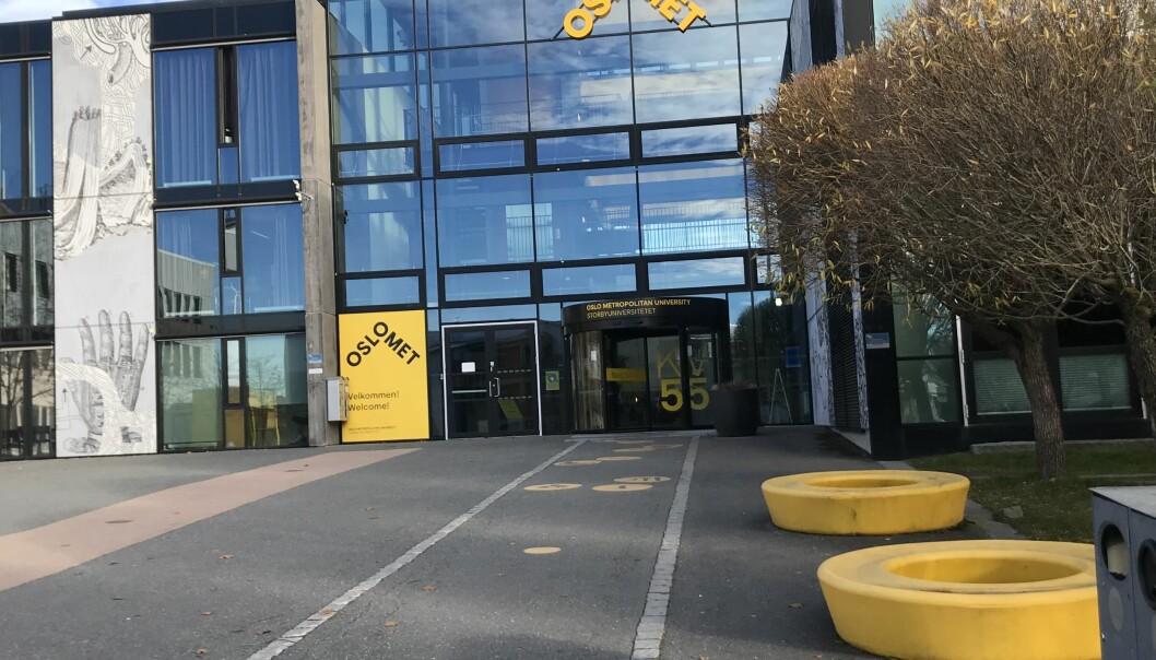 OsloMet kan bli på Kjeller og inngå leieavtale for dagens bygg fram til 2043. Foto: Eva Tønnessen