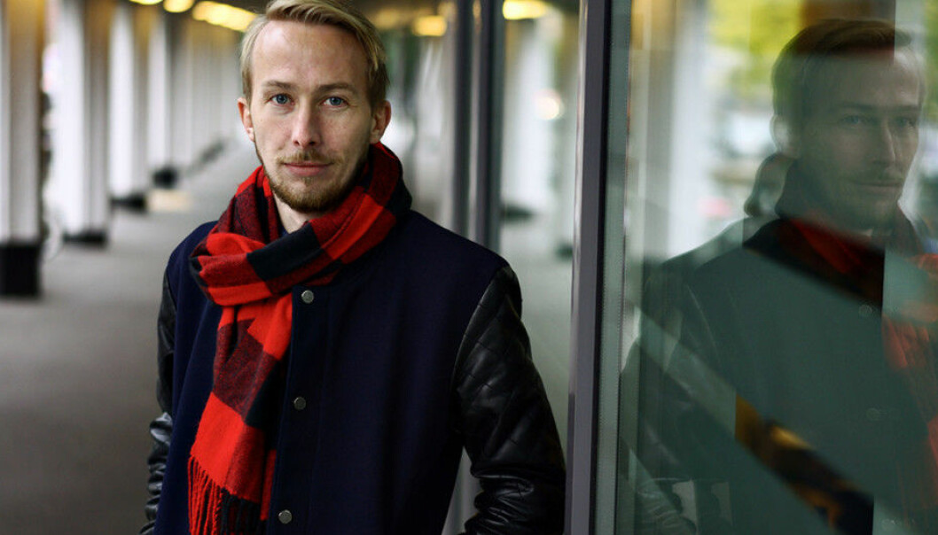 André Almås Christiansen satt i ledelsen av Norsk studentorganisasjon i to år, og ser mange gode grunner til at flere burde kunne gjøre det samme. Foto: Ketil Blom Haugstulen