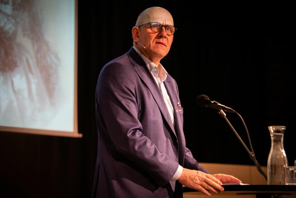 Morten Dæhlen, dekan ved det Matematisk-naturvitenskapelige fakultet , UiO. Foto: Runhild Heggem