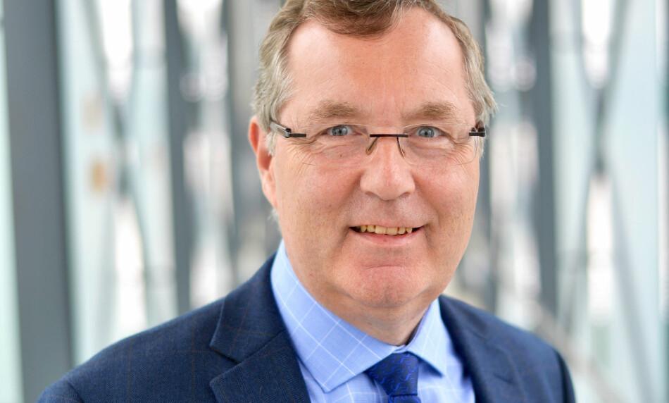 Tidlegare universitetsdirektør ved UiS Ole Ringdal (62) tiltrer ny stilling som direktør for organisasjon og infrastruktur. Foto: UiS