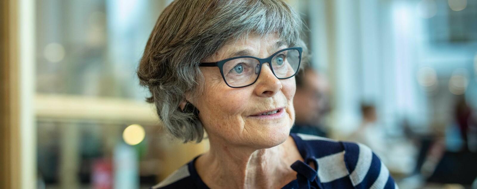 — Man har en vidunderlig frihet som professor, sier Anne-Brit Kolstø. Foto: Siri Øverland Eriksen