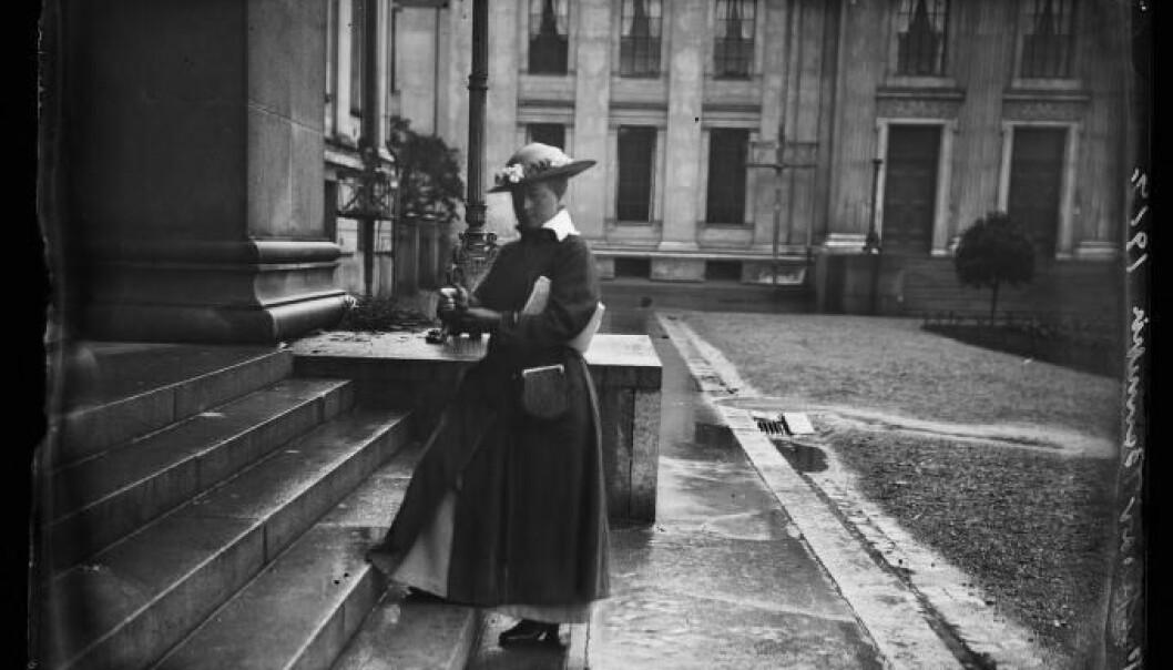 Kristine Bonnevie ble Norges første kvinnelige professor i 1912. Foto: Nasjonalbiblioteket/Wikimedia