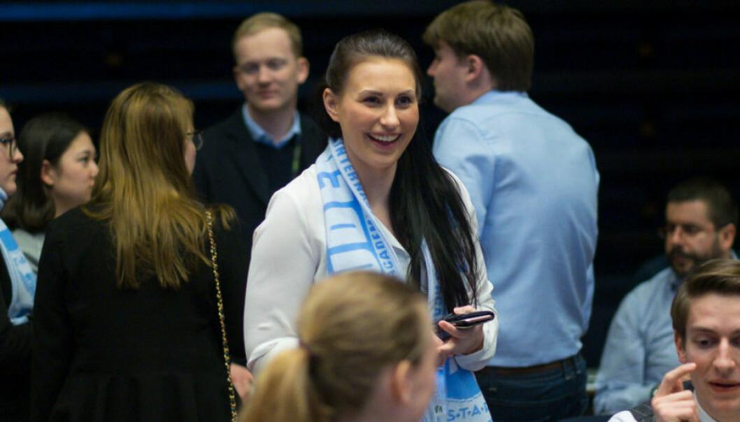 Nåværende nestleder i NSO, Marte Øien, trakk seg fra lederkampen i fjor, men nå prøver hun igjen. Foto: Ketil Blom Haugstulen