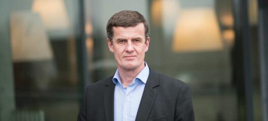 18 vil inn i rektoratet til Klaus Mohn i Stavanger