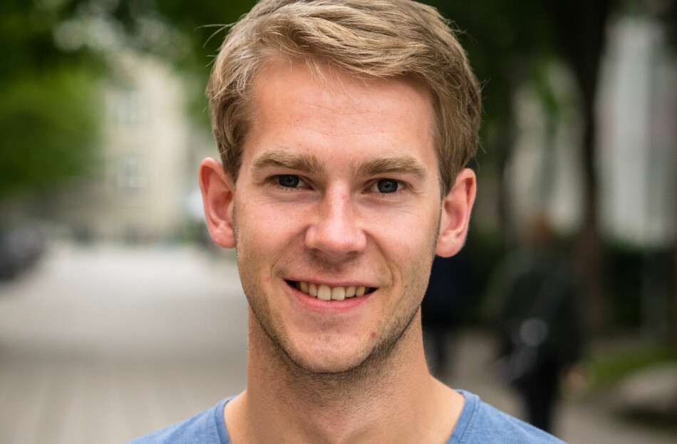 Magnus Johannesen fra NTNU sier han er klart for et hardt og gøy år i NSO. Foto: Privat