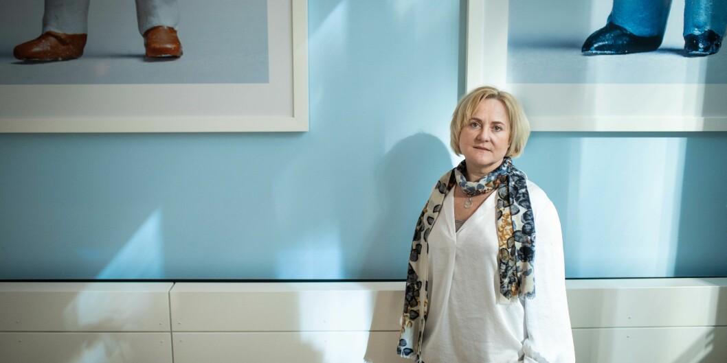 Helga Aune leder lovutvalget som skal lage ny universitets- og høgskolelov. Foto: Siri Øverland Eriksen