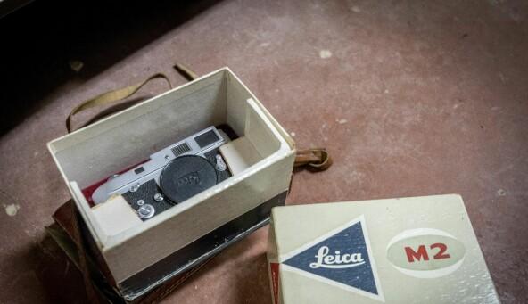 State of the art, Leica M2, som ein forskar aldri rakk å bruke? Eller gøymde i kjellaren og gløymde? Foto: Tor Farstad