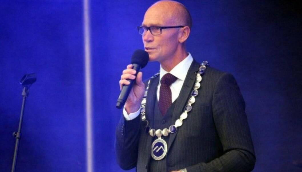 Etter at nominasjonskomiteen har avsluttet sitt arbeid er sittende rektor Steinar Kristoffersen eneste rektorkandidat ved Høgskolen i Molde. Foto: Arild Waagbø
