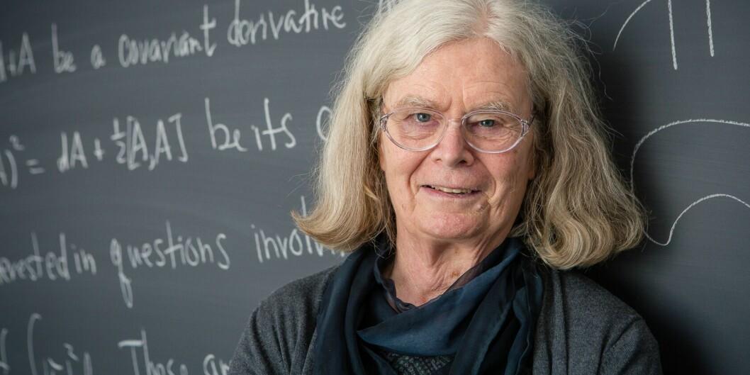 Karen Uhlenbeck er vinneren av Abelprisen i 2019. Foto: Andrea Kane/ Institute for Advanced Study.