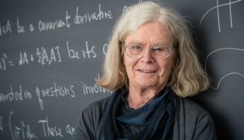 Karen Uhlenbeck er vinneren av Abelprisen i 2019. Foto: Andrea Kane/Institute for Advanced Study.