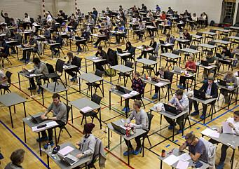 Avlyser muntlig eksamen