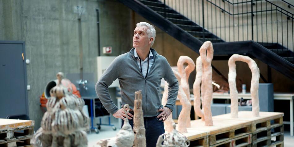 Jørn Mortensen stiller for en ny periode som rektor på Kunsthøgskolen i Oslo, men har fått en motkandidat. Foto: Ketil Blom Haugstulen
