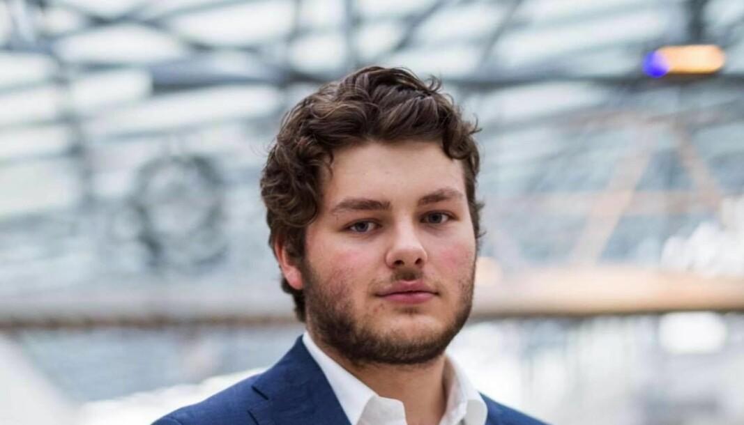 Jonas Økland er velferds- og likestillingsansvarleg i NSO.