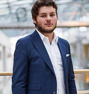 Jonas Økland frå BI vurderer eit år til som studentpolitikar på heiltid.