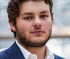 Jonas Økland leiar Studentmållaget i Oslo.