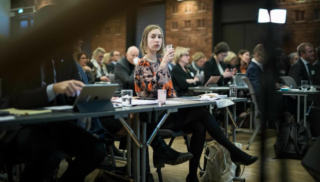 Statsråd Iselin Nybø sendte tirsdag brev til styret ved Nord universitet. Foto: Siri Øverland Eriksen