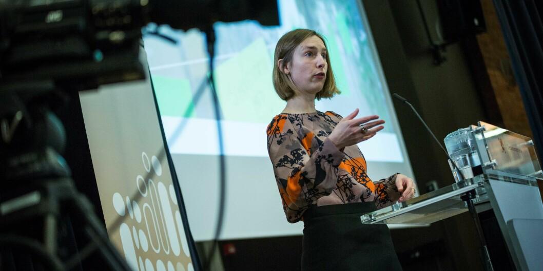 Iselin Nybø vil ha inn meninger om systemet for å telle forskning skal endres. Foto: Siri Øverland Eriksen
