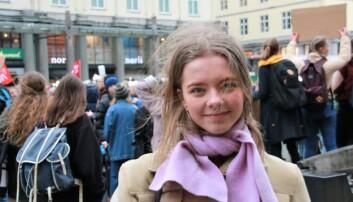 — Det er jo helt vilt, sier leder av Hordaland Natur og Ungdom, Vilja Helle Bøyum. Foto: Jan Willie Olsen