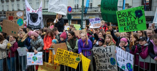 Er vi klare for klimastreikande ungdom?