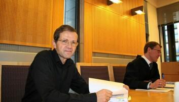 Arneved Nedkvitne i rettssalen i 2011.