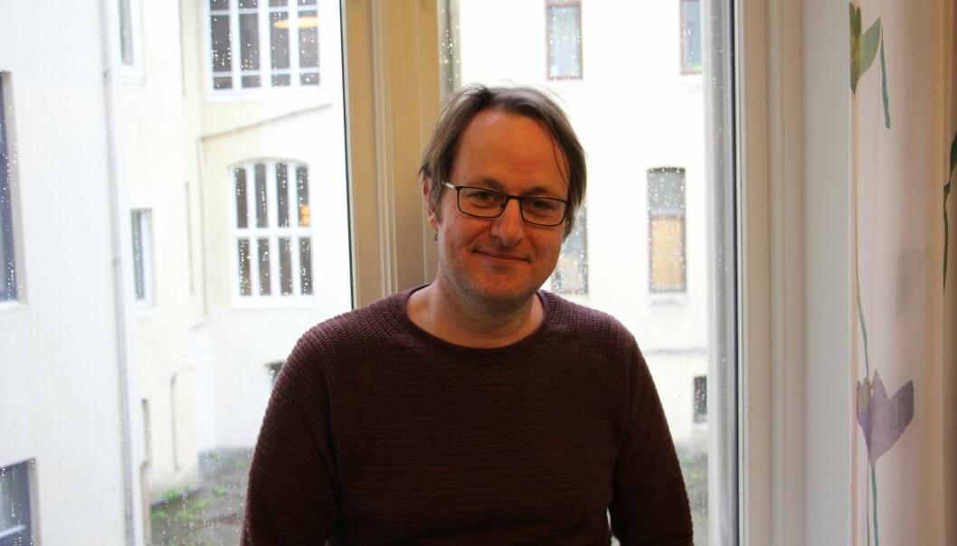 Ørnulf Risnes er avdelingsdirektør hos Norsk senter for forskingsdata (NSD), og har vore med på å utvikla microdata.no. Foto: Hilde Kristin Strand