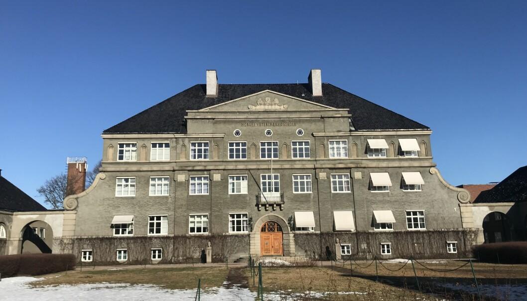 Hovedbygningen på Veterinærhøgskolen er fredet. Men tomten er foreslått når NRK nå er på leting etter et nytt sted å være.