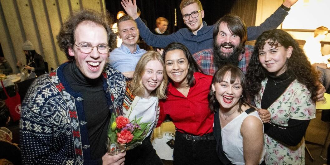 Venstrealliansen fikk flest stemmer ved studentvalget på Universitetet i Bergen. Foto: Tor Farstad