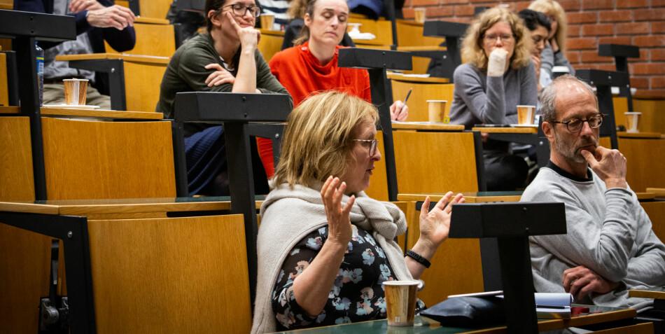 Prorektor Gro Bjørnerud Mo fulgte nøye med i strategidebatt om mangfold og likestilling. Foto: Runhild Heggem